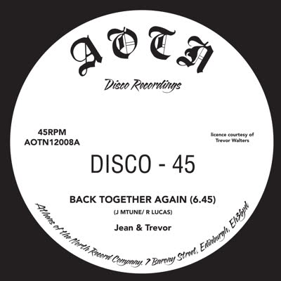 Jean & Trevor/BACK TOGETHER 12""