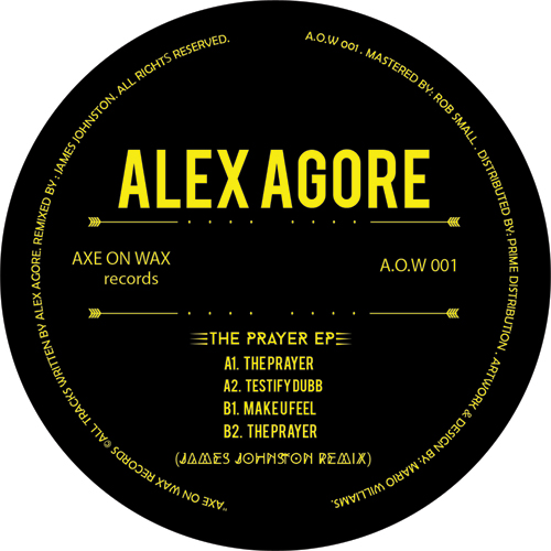 Alex Agore/THE PRAYER EP 12""
