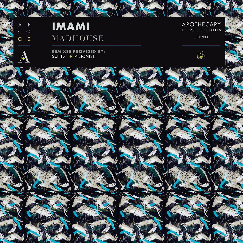 "Imami/MADHOUSE (WHITE VINYL) 12"""