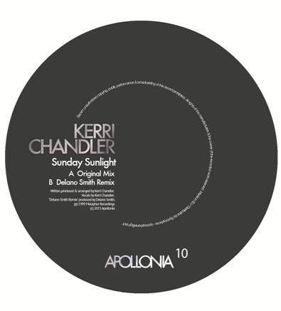 "Kerri Chandler/SUNDAY SUNLIGHT RMX 12"""