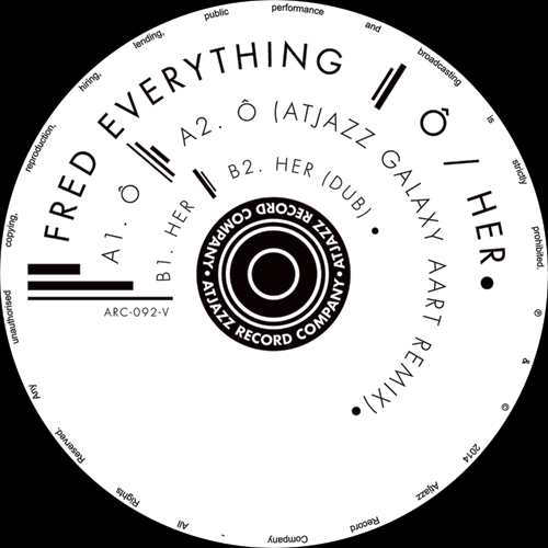 """Fred Everything/O (ATJAZZ REMIX) 12"""""""