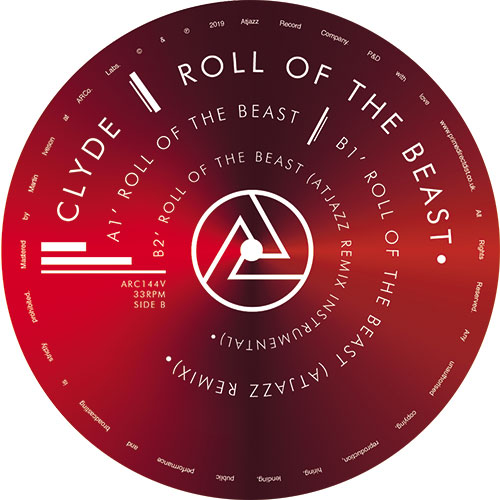 """Clyde/ROLL OF THE BEAST (ATJAZZ RMX) 12"""""""