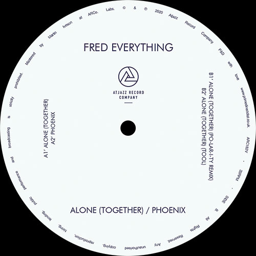 """Fred Everything/ALONE (TOGETHER) 12"""""""