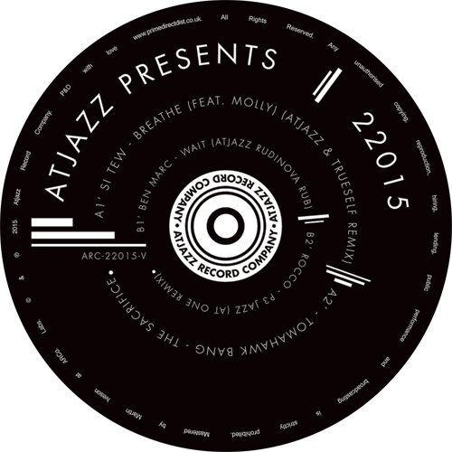 "Atjazz/PRESENTS 22015 (RSD 2016) 12"""