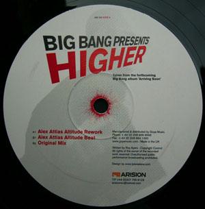 """Big Bang/HIGHER-ALEX ATTIAS REMIX  12"""""""
