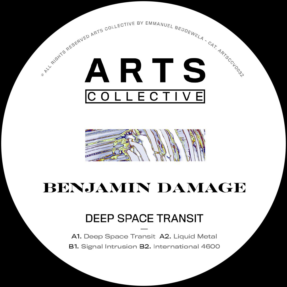 Benjamin Damage/DEEP SPACE TRANSIT 12""