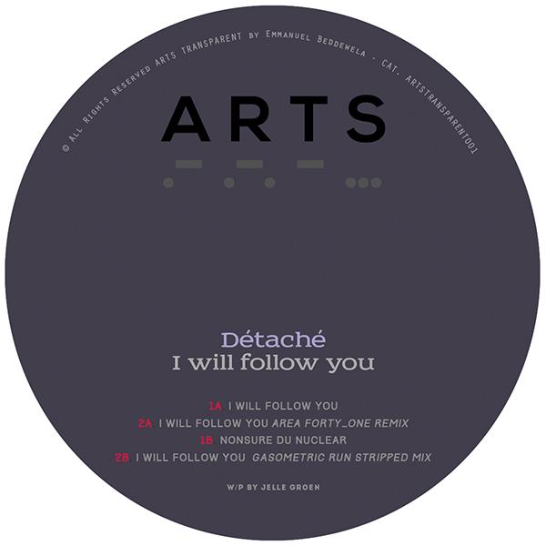 "Detache/I WILL FOLLOW YOU EP 12"""