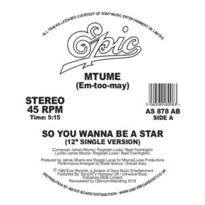 Mtume/SO YOU WANNA.. (DANNY KRIVIT) 12""