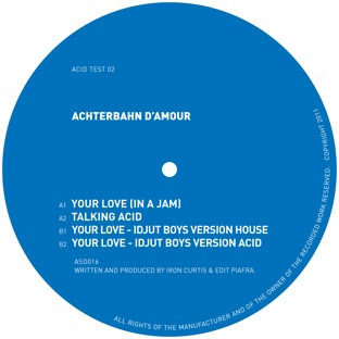 Achterbahn D'Amour/YOUR LOVE EP 12""