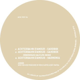 Achterbahn D'Amour/ACID TEST 06 12""