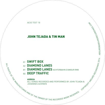 "John Tejada & Tin Man/ACID TEST 10 12"""