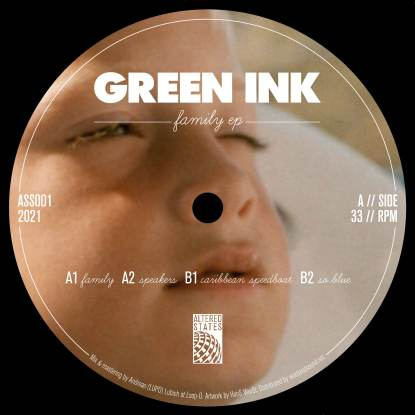 """Green Ink/FAMILY EP 12"""""""