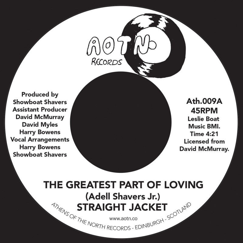 Straight Jacket/GREATEST PART OF... 7""
