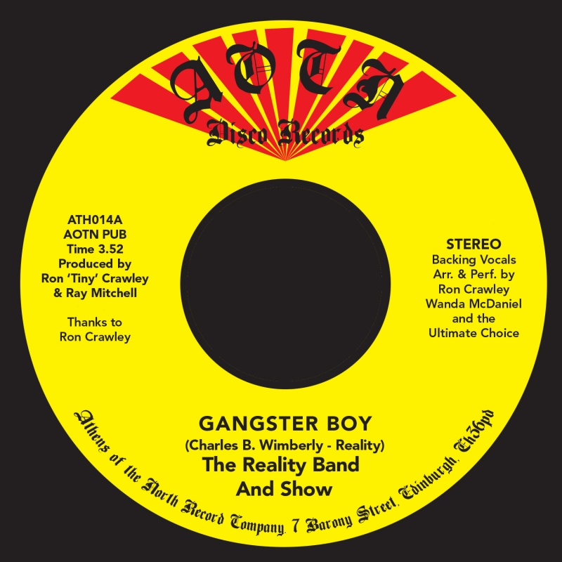"""Reality Band & Show/GANGSTER BOY 7"""""""