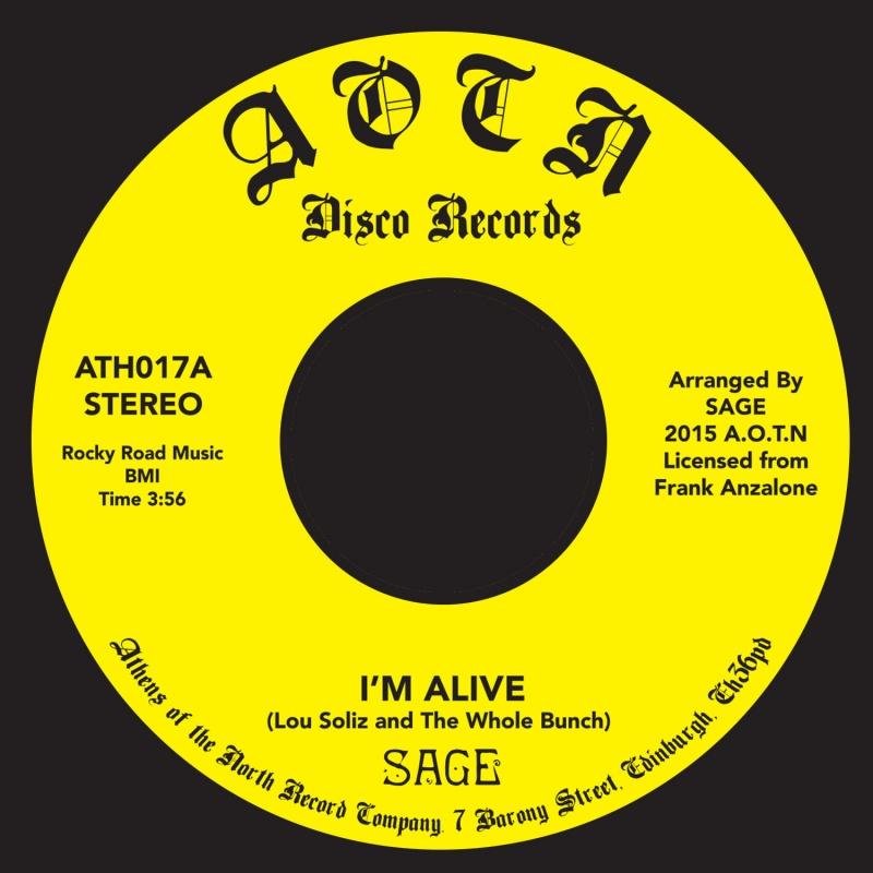 "Sage/I'M ALIVE 7"""