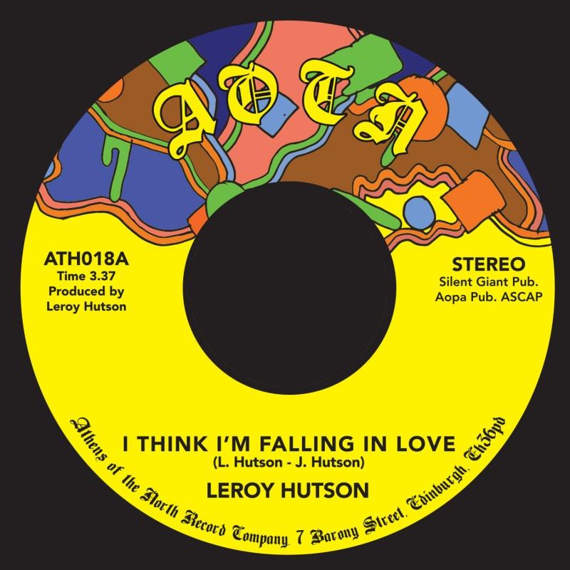 """Leroy Hutson/I THINK I'M FALLING... 7"""""""