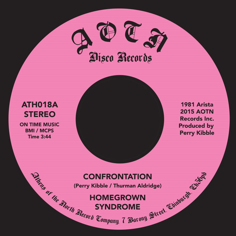Homegrown Syndrome/CONFRONTATION 7""