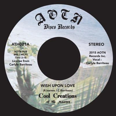 Cool Creations/WISH UPON LOVE 7""