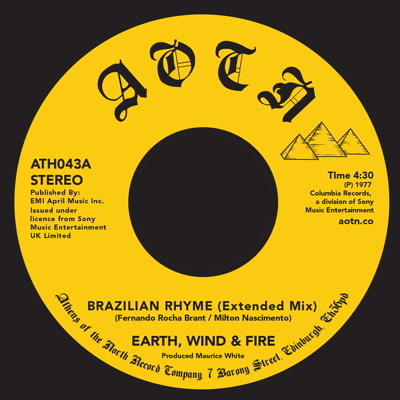 Earth Wind & Fire/BRAZILIAN RHYME 7""