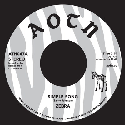 Zebra/SIMPLE SONG 7""