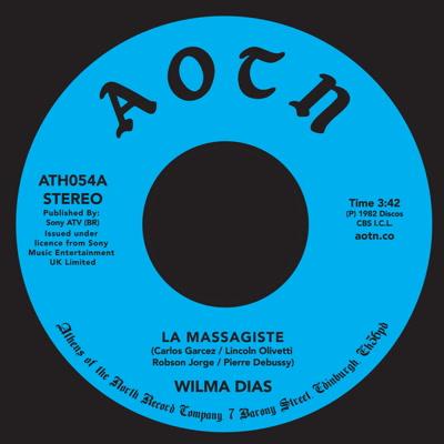 """Wilma Dias/LA MASSAGISTE 7"""""""