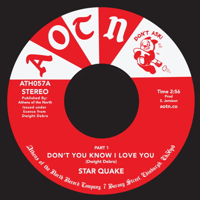 Star Quake/DON'T YOU KNOW I LOVE YOU 7""