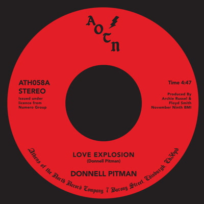 """Donnell Pitman/LOVE EXPLOSION 7"""""""
