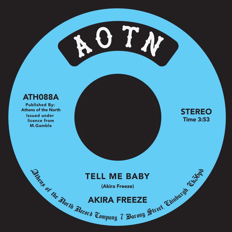 """Akira Freeze/TELL ME BABY 7"""""""