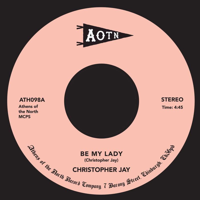 Christopher Jay/BE MY LADY 7""