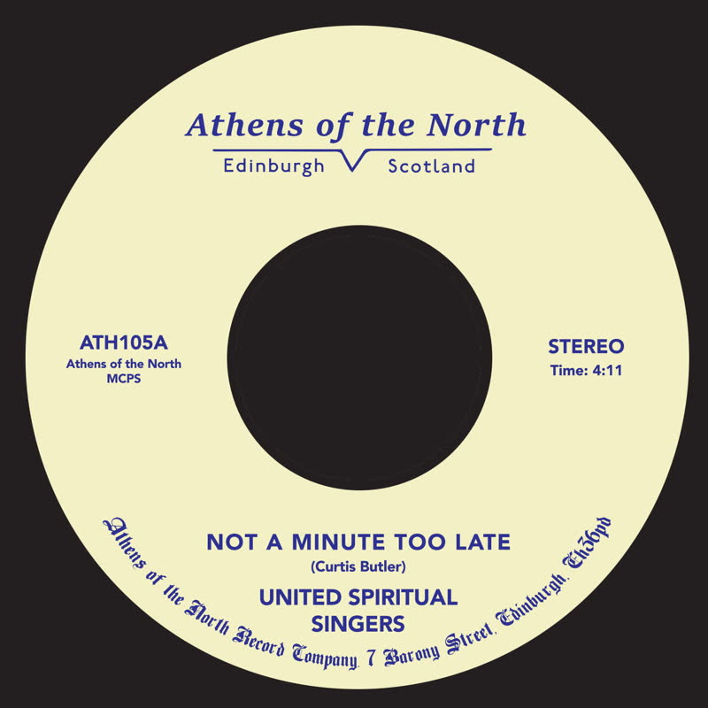 "United Spiritual Singers/NOT A... 7"""