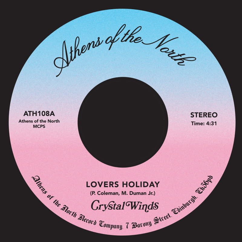 """Crystal Winds/LOVERS HOLIDAY 7"""""""