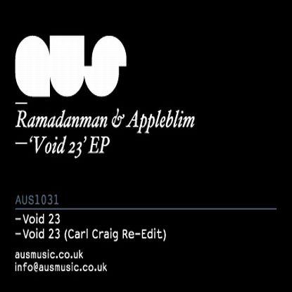 "Ramadanman & Appleblim/VOID 23 12"""