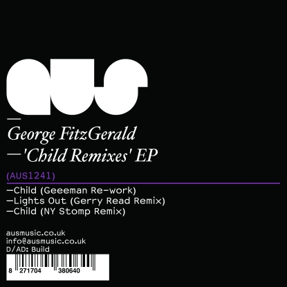 George Fitzgerald/CHILD REMIXES EP 12""