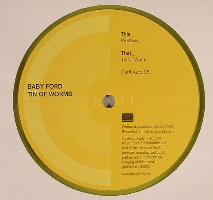 """Baby Ford/TIN OF WORMS 12"""""""