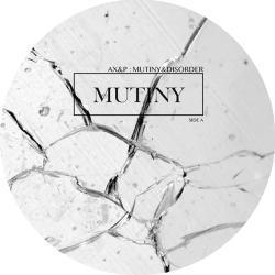 "Adam X & Perc/MUTINY & DISORDER 12"""