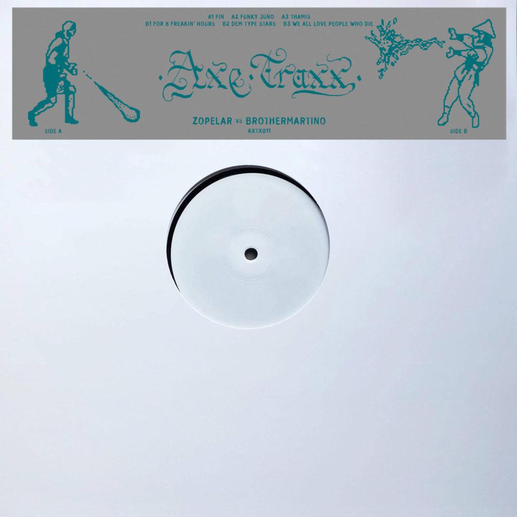 "Zopelar & Brothermartino/AXTX011 EP 12"""