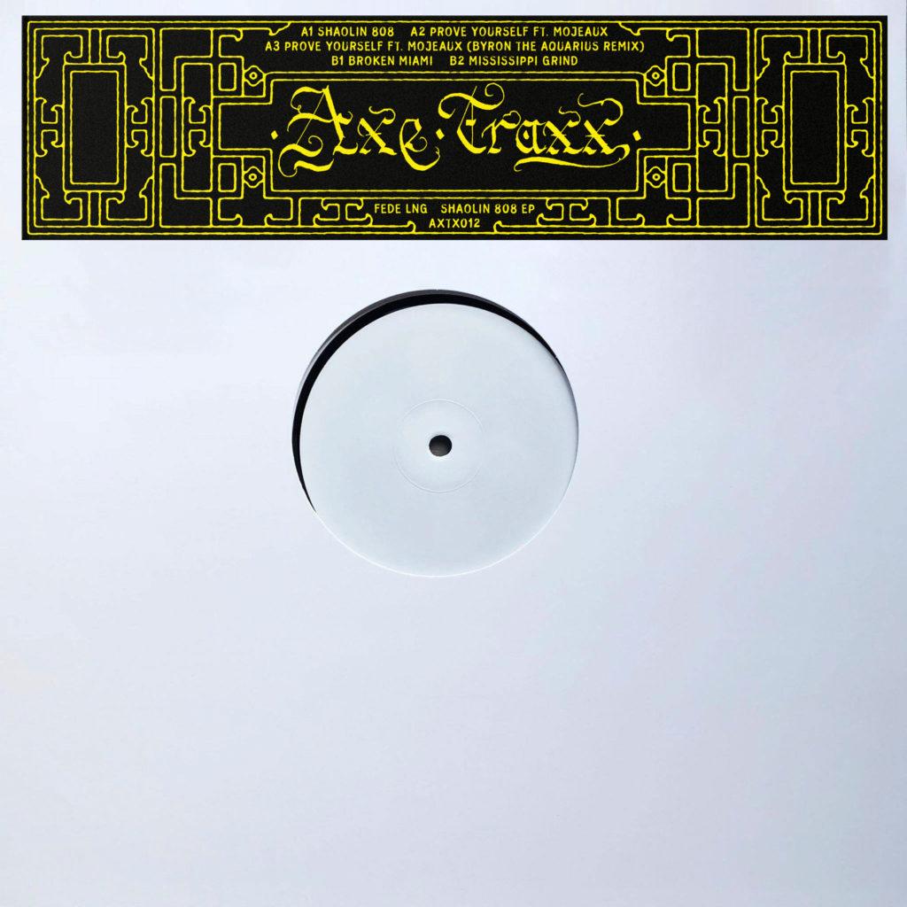 "Fede Lng/SHAOLIN 808 EP 12"""