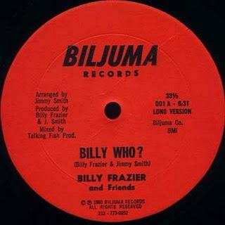 """Billy Frazier & Friends/BILLY WHO? 12"""""""