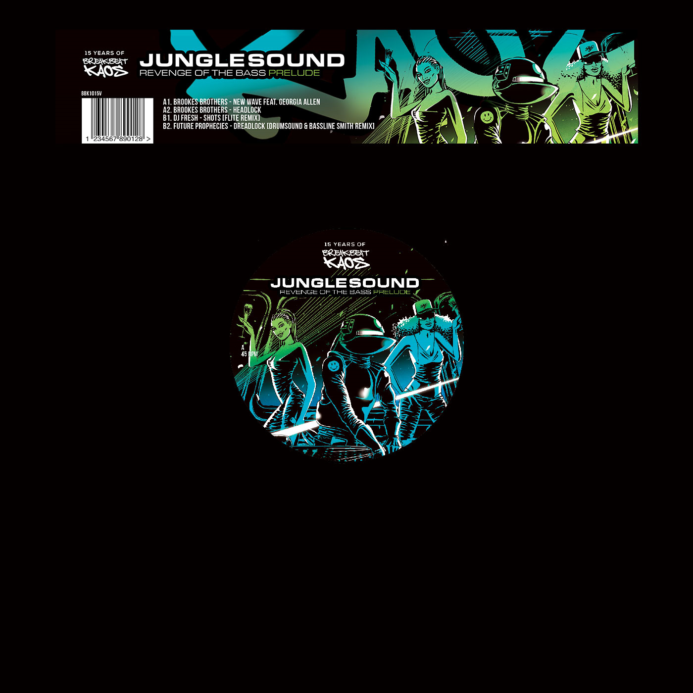 Various/JUNGLESOUND: PRELUDE 12""
