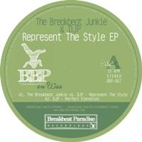 "Breakbeat Junkie/REPRESENT THE STYLE 12"""