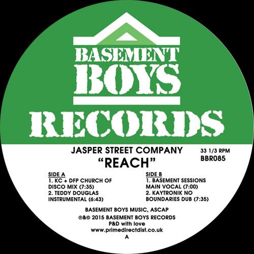 """Jasper Street Co/REACH REMIXES 12"""""""