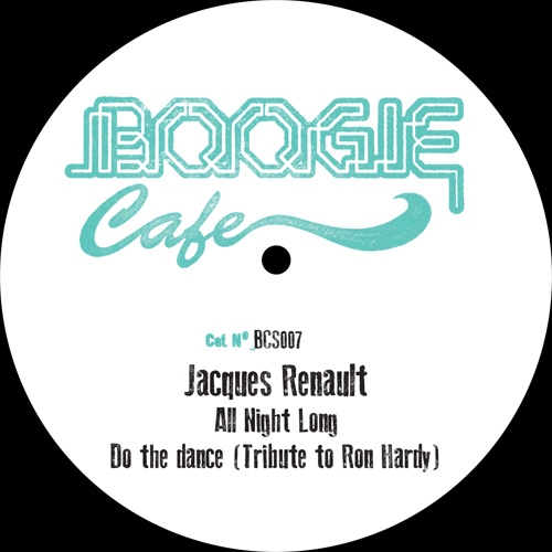 """Jacques Renault/TRIBUTE TO RON HARDY 12"""""""