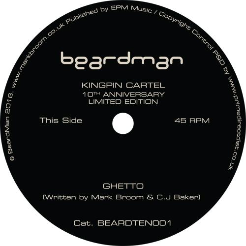 "Kingpin Cartel/GHETTO (1-SIDED) 10"""
