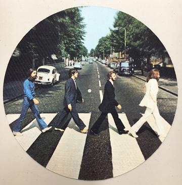 Beatles/ABBEY ROAD SLIPMAT