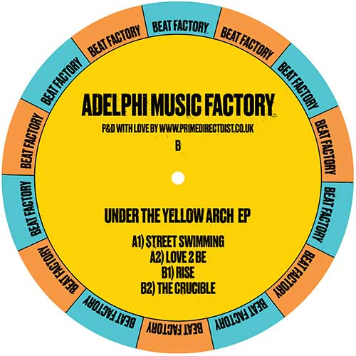 """Adelphi Music Factory/UNDER THE... 12"""""""