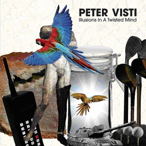 Peter Visti/ILLUSIONS IN A TWISTED CD