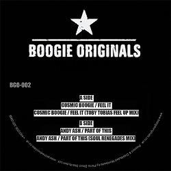 """Cosmic Boogie & Andy Ash/THE FEEL IT 12"""""""