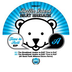 """Breakbeat Junkie vs DJP/TIME TO ROLL 12"""""""