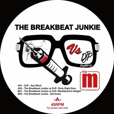 """Breakbeat Junkie vs DJP/BIGM 12"""""""