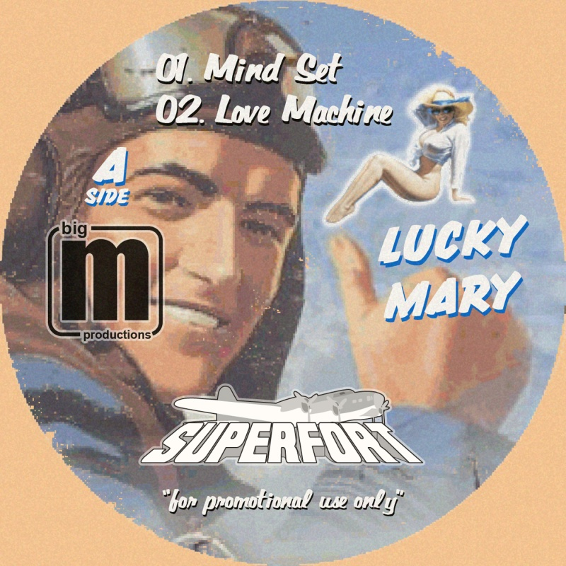 """Superfort/LUCKY MARY EP 12"""""""